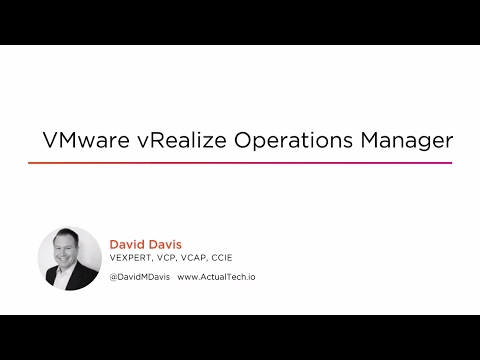 Course Preview: VMware vRealize Operations Manager - YouTube