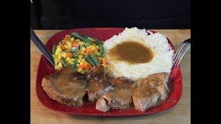 Slow Cooker Pork Chops!  (Best recipe Ever!)