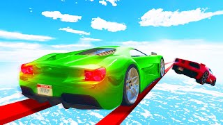 Can You Survive The 1,000 MILE TIGHTROPE?! (GTA 5 Funny Moments)