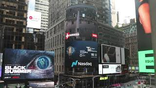 Trust In Innovation Summit showcased by WISeKey SA at Nasdaq Times Square