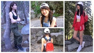 Hiking Lookbook| Outfit Ideas For Hiking (no Voice-over)