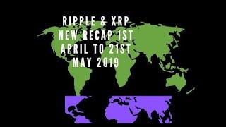 Ripple XRP news recap 1st April to 21st May 2019