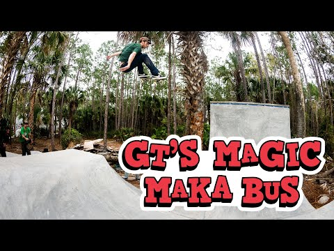 "preview image for GT's ""Magic Maka Bus"" Video"