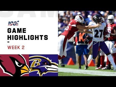 Cardinals vs. Ravens Week 2 Highlights | NFL 2019