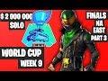 Fortnite World Cup Week 9 Highlights Final NA East SOLO Part 3 [Fortnite World Cup Highlights 2019]