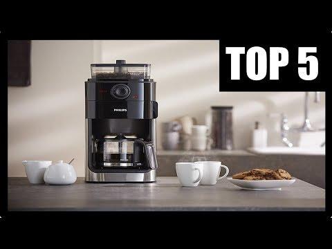 ► BESTE KAFFEE FILTERMASCHINE TEST 💎 Philips Filterkaffeemaschine mit Mahlwerk, Filterkaffeeautomat