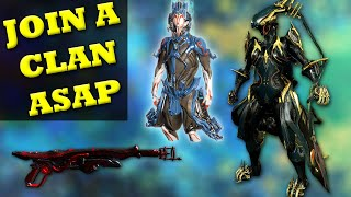 Join A Clan For Warframes Weapons And More!
