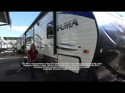 2019 Palomino Puma 28RKSS Rear Kitchen at Campers RV Center, Shreveport, LA 71129
