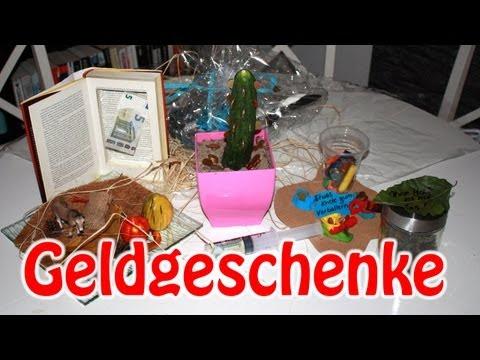 """YouTube Geburtstag Teil 3 """"Geldgeschenke"""""""