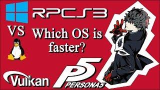 RPCS3 | Ryzen 2600x | Windows vs  Linux - Revised | 3 games