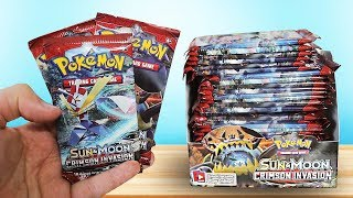 Download Youtube: Opening a Pokemon Crimson Invasion Booster Box!