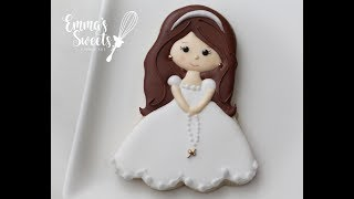 Communion Girl Cookie By Emmas Sweets