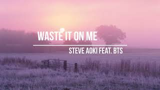 Waste It On Me Cheat Codes Remix Bts Download Flac Mp3