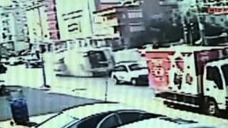 ДТП с туристическим автобусом в Турции сняли на видео
