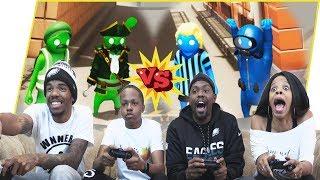 Team Beatdown! Who's The Best Gang Beasts Duo?! - Gang Beast Gameplay