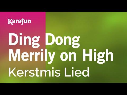 Karaoke Ding Dong Merrily on High -  *
