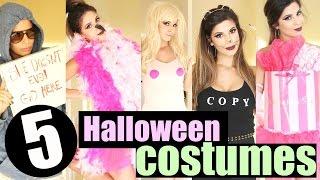 DIY Last Minute Halloween Costume Ideas 2015