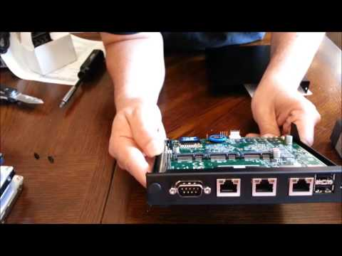 PC Engines APU 1d4 Router teardown  - My Most Used pfsense router hardware for 10 users or less.