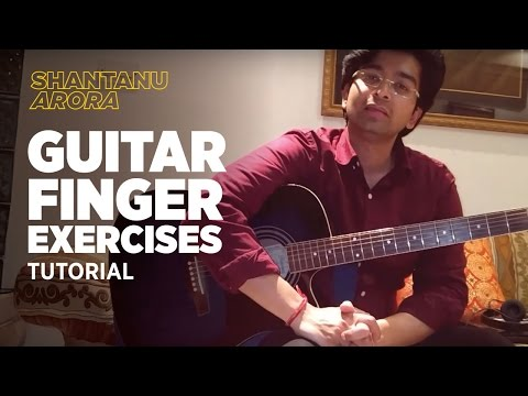 Download Lesson 4- Guitar Finger Exercises for Beginners | Play Guitar | Shantanu Arora Mp4 HD Video and MP3