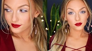 Easy + Affordable Holiday Makeup Look