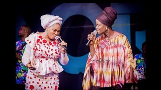 Tope Alabi Live on stage with Sola Allyson singing Together