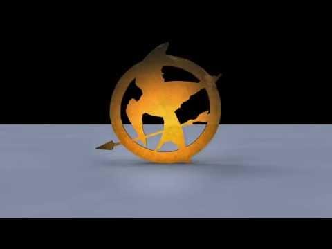 The Hunger Games Brooch - Cinema4D