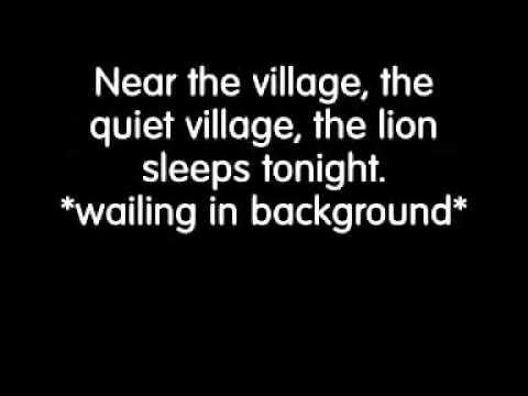 The Tokens The Lion Sleeps Tonight Lyrics