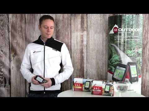 Dein sportliches Outdoor Navi - GPS Gerät Falk LUX 22 / LUX 32 (Outdoor Navigation)