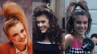Top 10 Hairstyles You Totally Wore In The 80s. Most Iconic And Best Hairstyles Of The 1980s