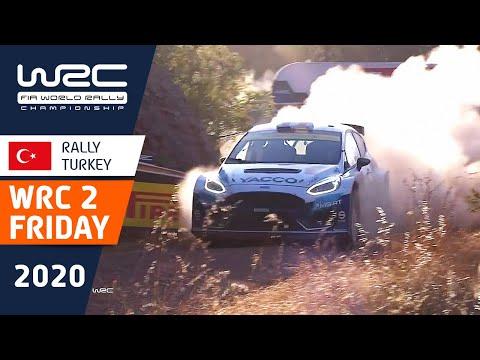 WRC2 ラリー・ターキー(トルコ)。金曜日のラリーの中から気になるシーンを集めたダイジェスト動画
