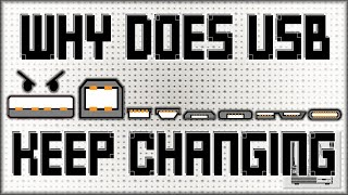 Why Does USB Keep Changing? | Nostalgia Nerd