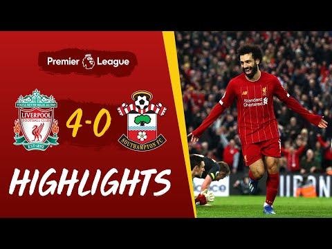 Ox Henderson & Salah double seal win | Liverpool 4-0 Southampton | Highlights