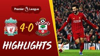 Ox, Henderson & Salah double seal win | Liverpool 4-0 Southampton | Highlights
