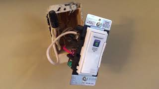 Leviton Wi Fi Dimmer Switch blogger review