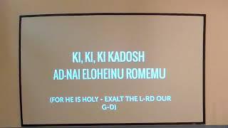 Shabbat Sermon - May 11, 2019