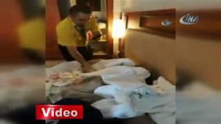Русские воруют из отеля в Турции 2018. Туристка увозила из отеля полные чемоданы. Наши в Турции