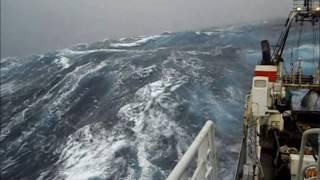 Северный шторм Судно на промысле