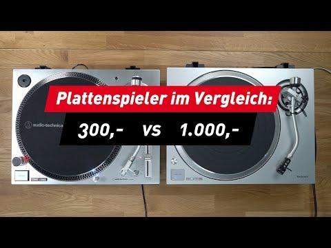 Technics und Audio Technica: Plattenspieler im Vergleich