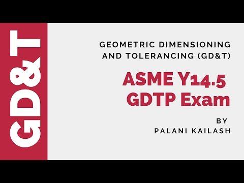 ASME GDTP Exam Strategy : GD&T Tutorial - YouTube