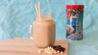 מתכון לאייס קפה שוקולד לבן ופקאנים