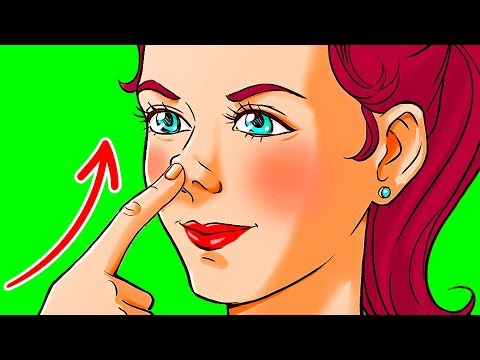 Push Your Nose Upward for 10 Seconds, See What Happens