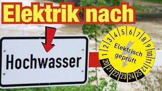 Elektrik NACH Hochwasser wieder einschalten // Gefahr Photovoltaik // Proofwood