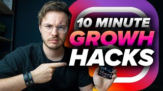 Grow Your Instagram FAST with just 10 Minutes a Day