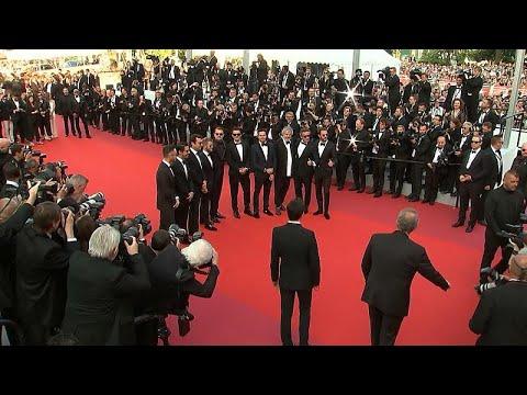 العرب اليوم - شاهد:ليوناردو دي كابريو يشارك في عرض الفيلم الوثائقي