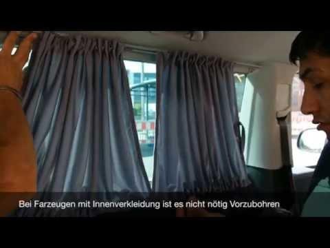 Bremer Sitzbezüge Gardine Montage Anleitung