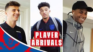 First Day for the Newbies and Rashford Misses Jesse Already!   Player Arrivals   Inside Access