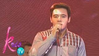 Kris TV: Erik Santos belts 'Ikaw Ang Lahat Sa Akin'