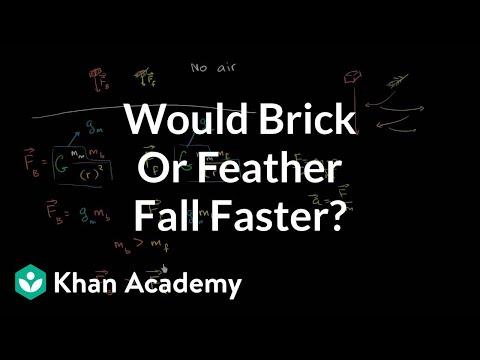 Tutorial Fisika: Batu atau Bulu yang Jatuh Lebih Cepat?
