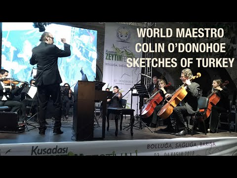 This orchestra in Turkey commissioned me to write a work for them.