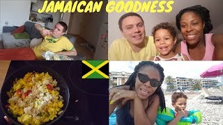 WHAT I TOOK BACK FROM JAMAICA FOR HIM !?! | LICK YUH FINGA!!